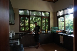 "Our chef, Gedee (""gahday"")"