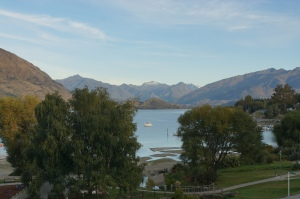 View of Lake Wanaka